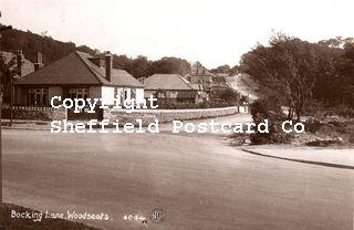 spc674: Bocking Lane, Woodseats. 4044. (Sneath on reverse)