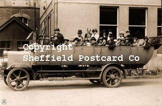 spc677: (uncaptioned) Charabanc, R.J.Smith, Brook Rd, Sheffield (prob photog in Matlock)