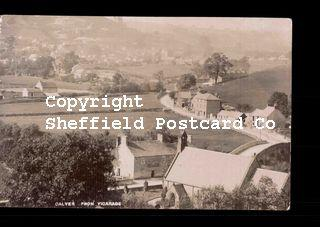 spc686: Derbys - Calver from Vicarage (bw).psd