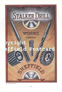 spc704: Stalker Drill Works Sheffield (ISR1919p184xii)